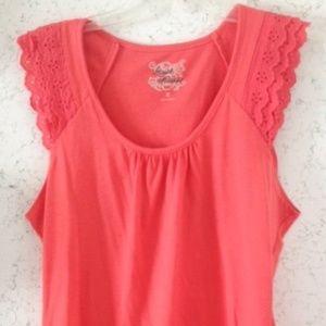 Ladies orange blouse